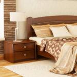 современный дизайн прикроватной тумбы в спальне