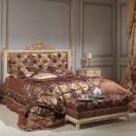 красивый дизайн прикроватной тумбы в спальне