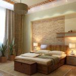 ремонт спальни с комодом