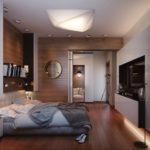 ремонт спальни в стиле модерн