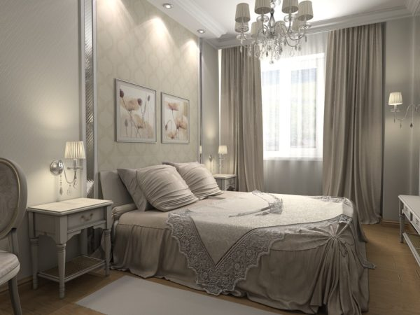 красивая оригинальная большая кровать в спальню