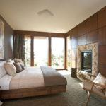 шикарная спальня в стиле модерн