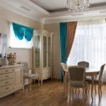 шторы-как яркий контраст для комнаты