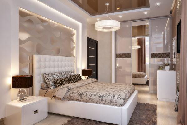 фото оригинальной мебели в спальню