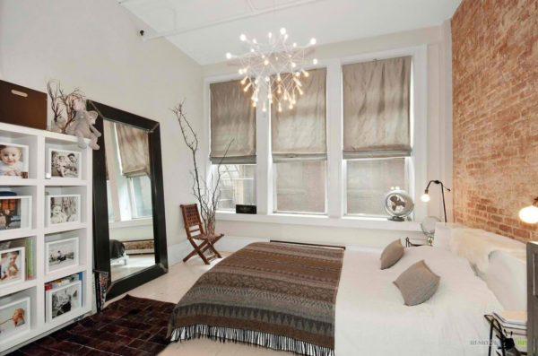 оригинальные красивые шторы в спальню