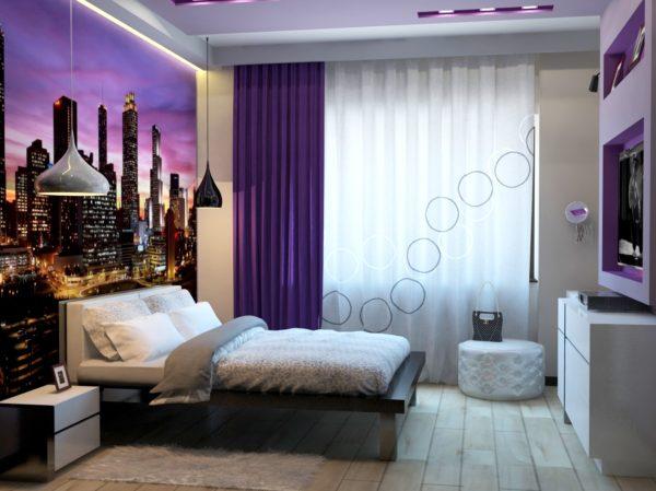 фото необычного дизайна мебели в спальню