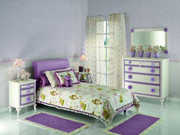 лаконичный дизайн детской спальни