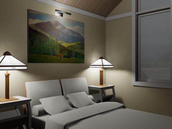 фото картины в спальню