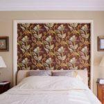 спальня после ремонта в классическом стиле