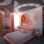 спальня после ремонта в стиле модерн
