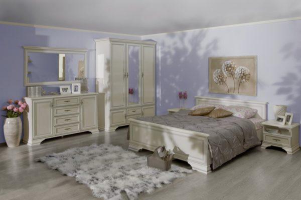 фото спальни с мебелью из дерева
