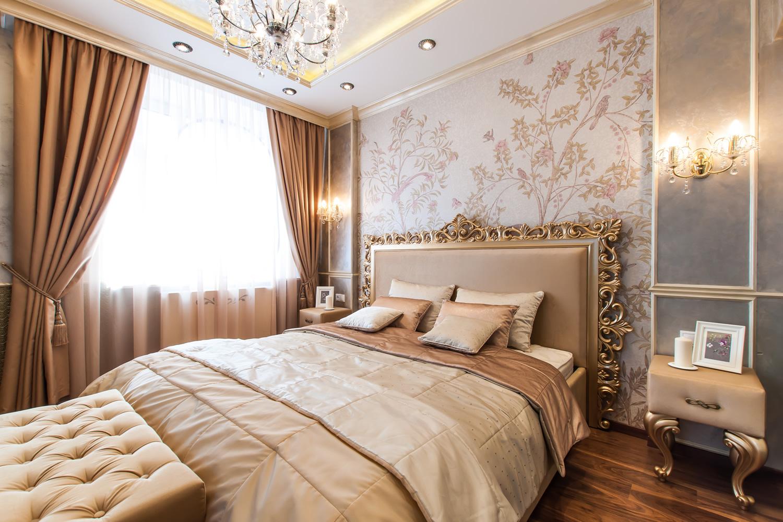 Ремонт у спальной комнате