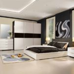 спальня в стиле модерн в квартире