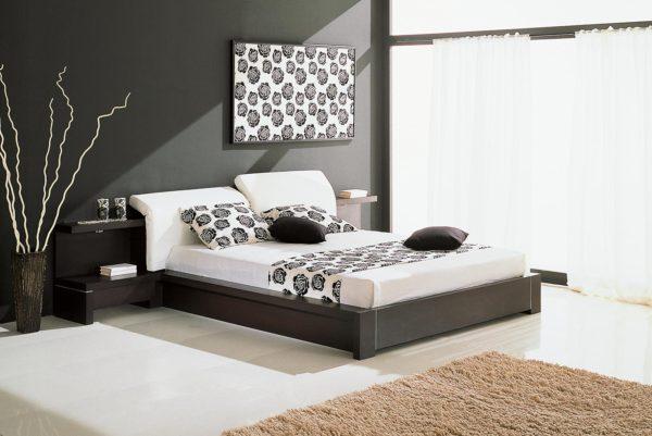фото спальни в стиле хай-тек