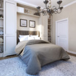 стенка для спальни в стиле модерн