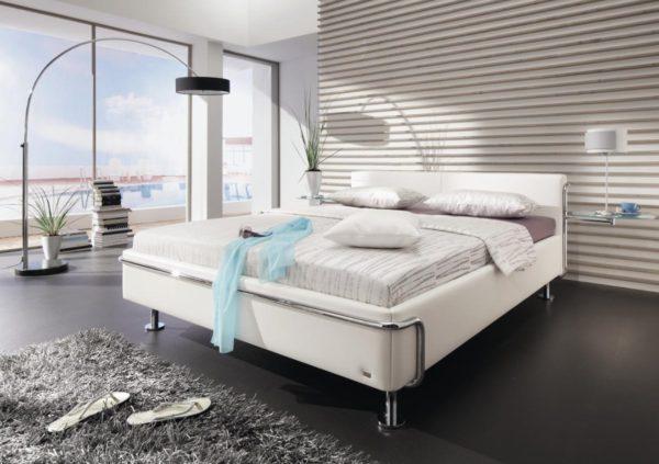 стиль хай-тек в спальне
