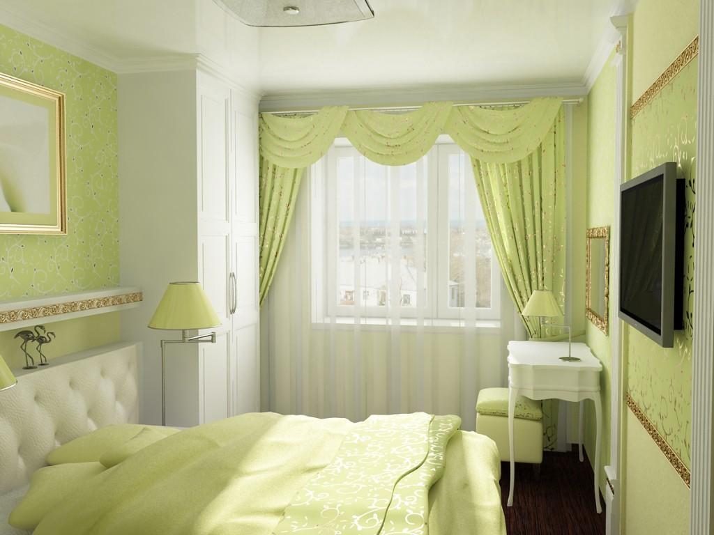 Ремонт спальни 9 кв м фото своими руками 12