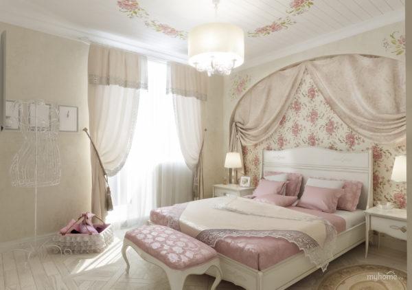 мебель в спальне в стиле прованс
