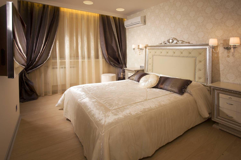 Текстиль в дизайне спальни