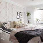 традиционное оформление спальни в скандинавском стиле
