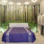 увеличение зрительного пространства во время ремонта спальни