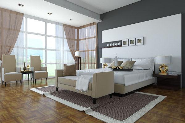 фото видов дизайна спальни в стиле модерн