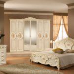 викторианский стиль в спальне