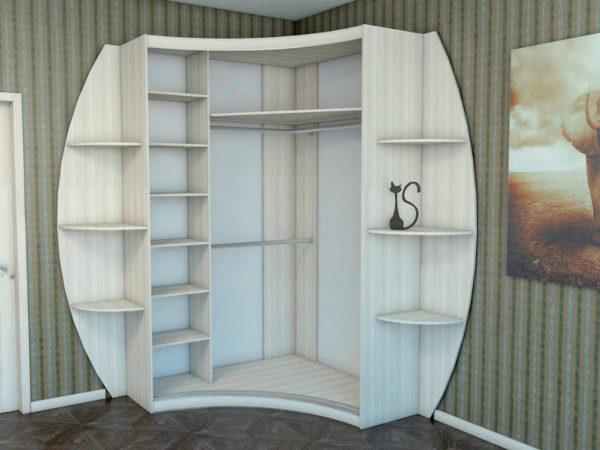 внутренняя отделка шкафа