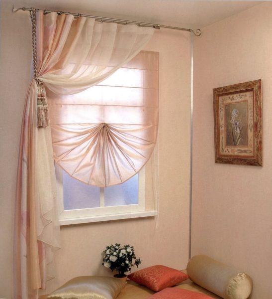 занавески для маленькой комнаты