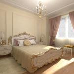 красивая модная спальня