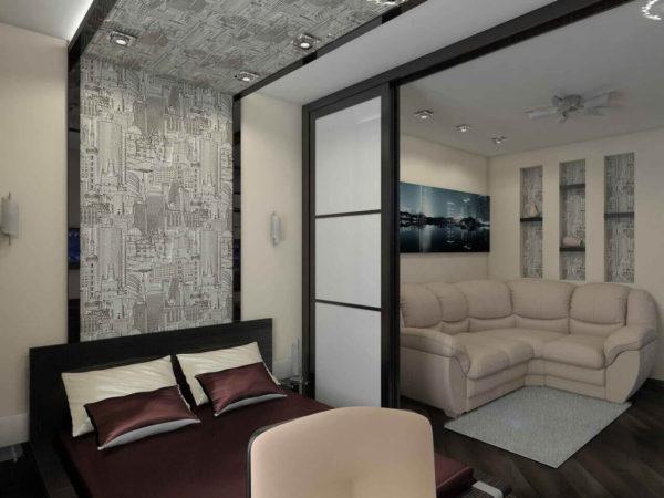 мебель в спальне и гостиной