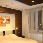 современный дизайн картины в спальне