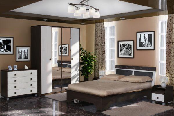 оригинальная мебель в спальню