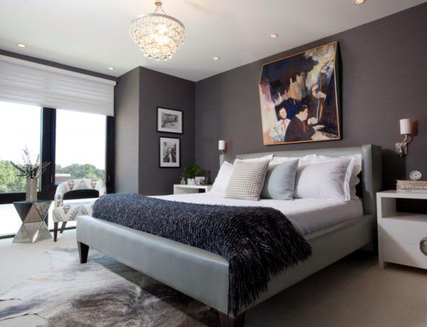 современное оформление спальни 2017