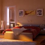 красивый необычный дизайн картины для спальни
