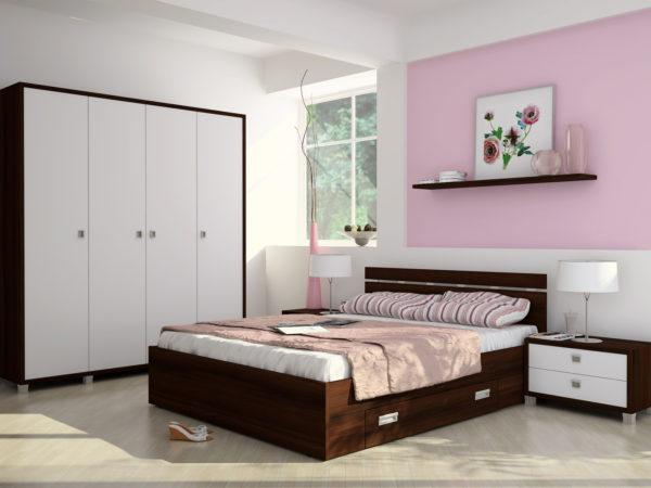 фото мебели в интерьере спальни