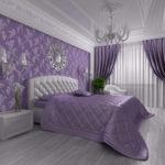 оригинальное красивое покрывало на кровать в спальню
