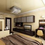 модная спальня