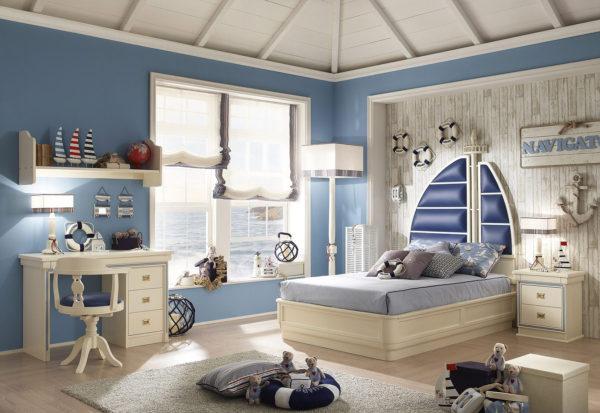 оформление детской спальни