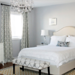 оригинальный интерьер спальни в 2017