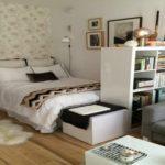 дизайн спальни и гостиной