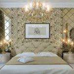 традиционное оформление спальни и гостиной