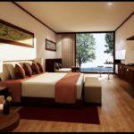 необычный дизайн мебели в спальню