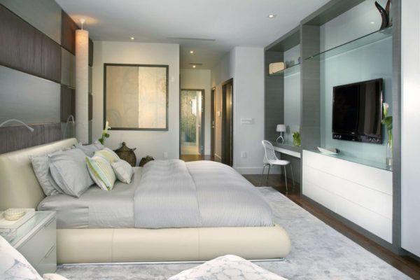 оформление мебели в спальне