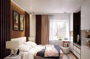 изящный интерьер спальни