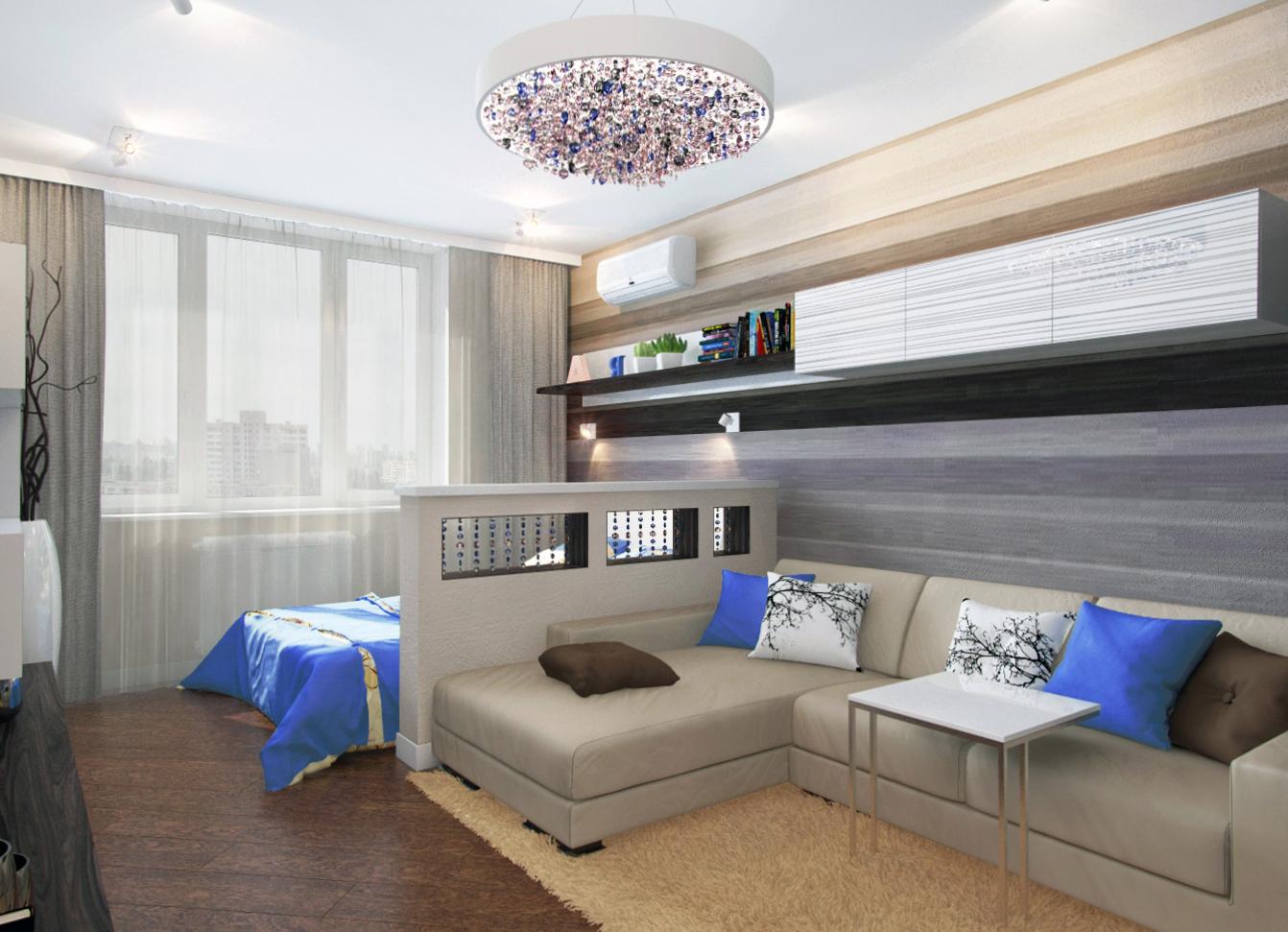 Гостинная спальня как совместить
