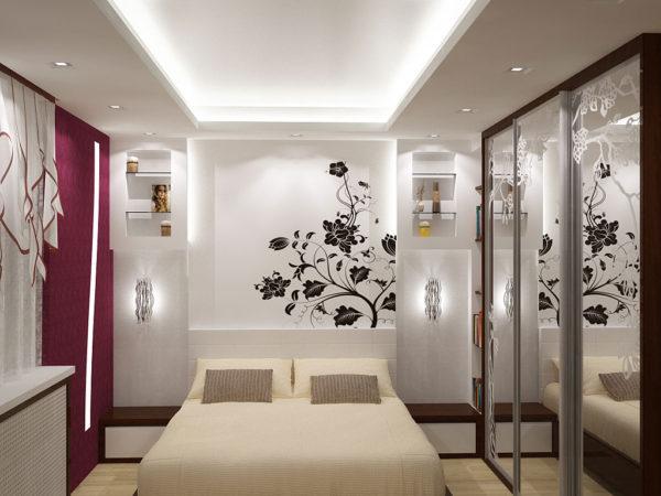 фото модной спальни