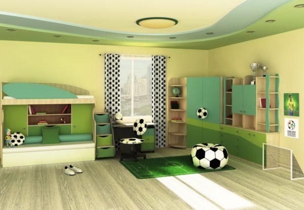 традиционное оформление детской спальни