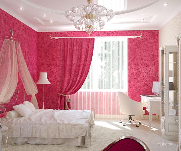 дизайн детской спальни