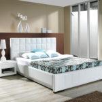 светлая мебель в интерьере спальне